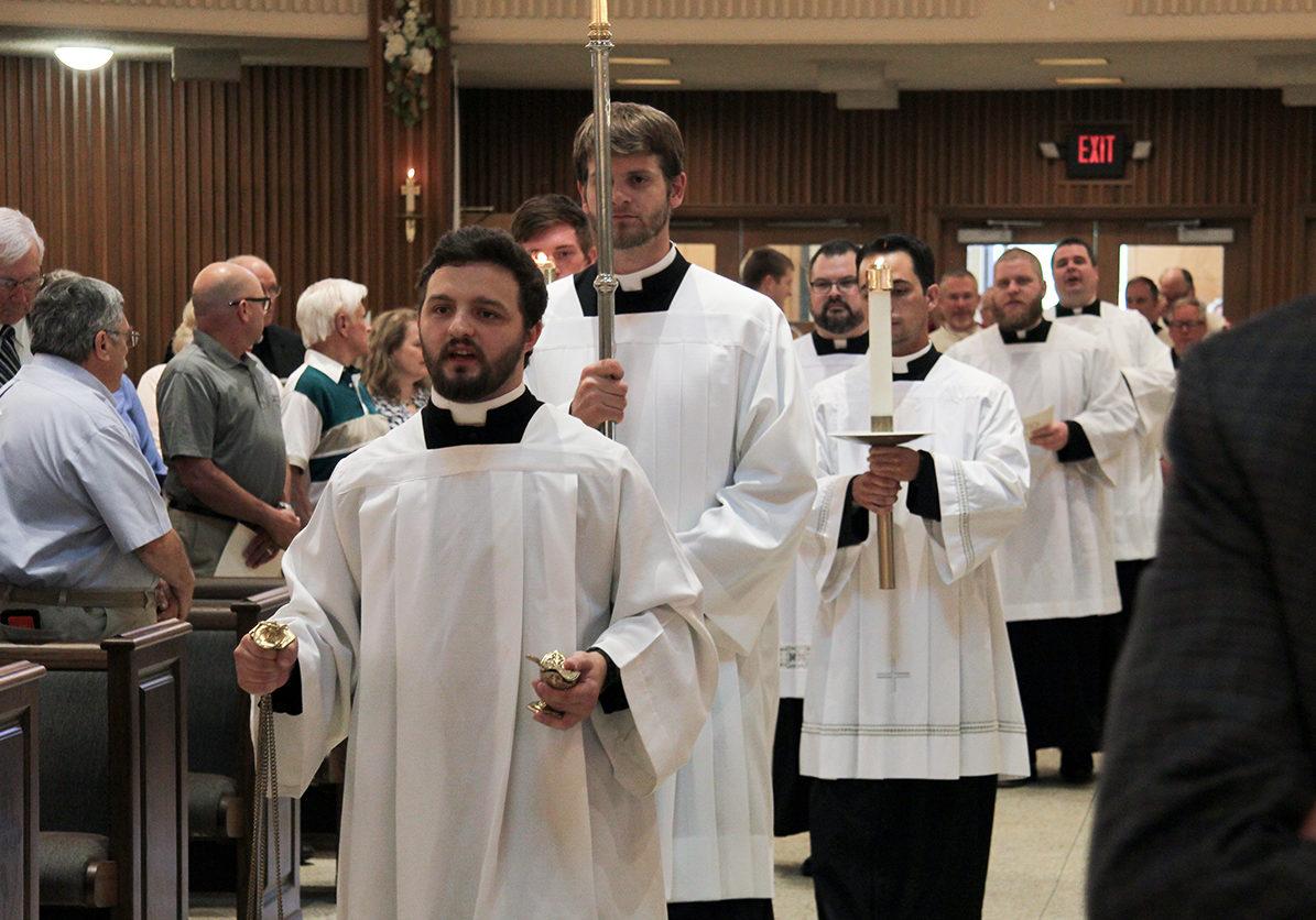 Seminarians At Mass